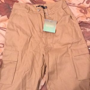 Missguided cargo pants brand new